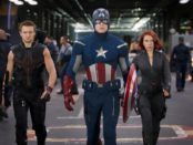Haweye Captain America and Black Widow