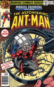 Ant-Man review Marvel Premiere comic cover