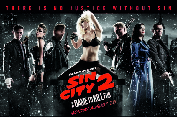 Sin City A Dame to Kill For review - Cinema Poster