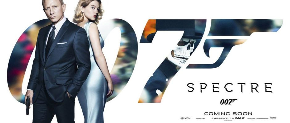 James Bond Spectre banner